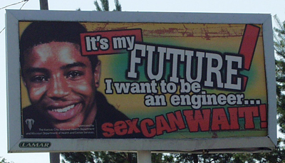 i want to be an engineer, sex can wait!